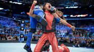 Nakamura low blow Styles