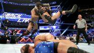 Randy Orton hits a RKO on Jinder Mahal