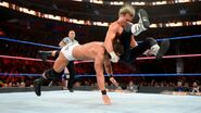 Ziggler put Roode into a famouser