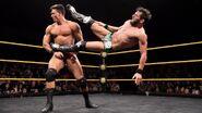 Gargano kick to Tino