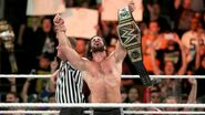Seth-Rollins wins the WWE Champion two-times