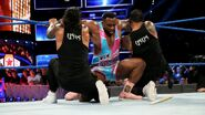 Big-E tangled up by the Usos