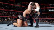 Samoa Joe tries bringing down Rhyno