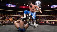 Andrade Almas beating Cedric Alexander