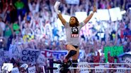 Bryan making his WrestleMania 30 entrance