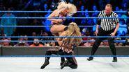Charlotte knee right to Natalya