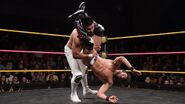 Gargano flip over Almas