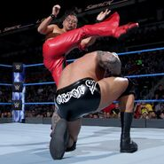 Orton docked Nakamura kick