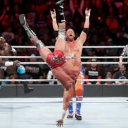 Curt thrown his former partner Zack Ryder