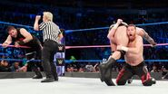 Zayn low blow Randy-Orton