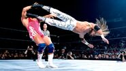 Edge dropkick Angle