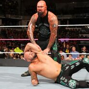 Luke-Gallows with Karl-Anderson loses the match