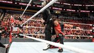 Nakamura hits Jeff Hardy with a lowblow