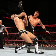 Slater kick Cesaro