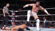 Neville stomping on Tozawa
