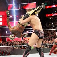 Rey Mysterio makes his WWE return and puts The Miz in the headscissor