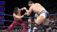 Rusev battles Shinsuke Nakamura