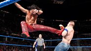 Shinsuke jumped kick Cena