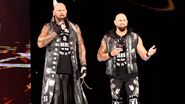 Luke and karl-Anderson interrupted