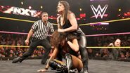 Nikki Cross grappling