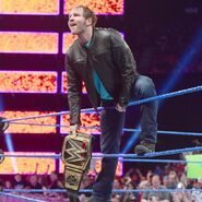 Dean Ambrose entrance in SmackDown