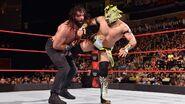 Samson kicked by Kalisto