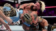 Enzo tries to keep Kalisto grounded