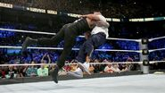 Roman-Reigns speared Shane-McMahon