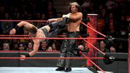 The Miz dropkick Matt Hardy