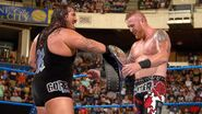 Heath and Rhyno At Backlash