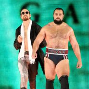 Aiden-English with Rusev