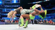 Carmella kicked Naomi