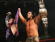 Hardy-Boyz wins the World Tag Team Champion