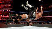 Roode put Ziggler onto the mat