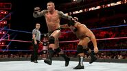 Rusev threw Orton