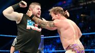 Jericho and Owens fighting off