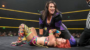 Nia Jax pinning on Asuka