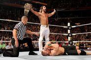 Seth-Rollins defeat John-Cena
