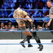 Natalya discuss clothesline Charlotte Flair