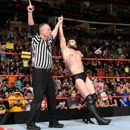 Finn Winning at Raw3