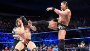 Big Cass strikes next launching a sneak attack on Bryan