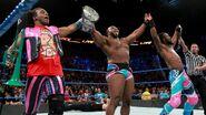 Big-E Kofi-Kingston and Xavier-Woods wins