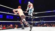 Sami-Zayn messes up Sin-Cara moves