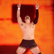 Hideo Itami on Monday Night Raw