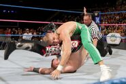 Kenny rollup pin on Heath-Slater