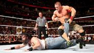 Cena putting Luke-Harper in the STFU