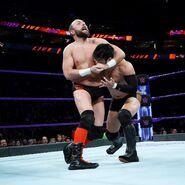 Hideo Itami battles Colin Delaney