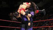 Nia against Bayley