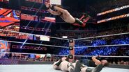 Rollins splashed Sheamus