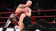 Cesaro tries to keep Dean Ambrose grounded